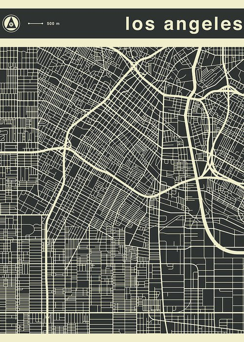 Designs Similar to Los Angeles Map 3