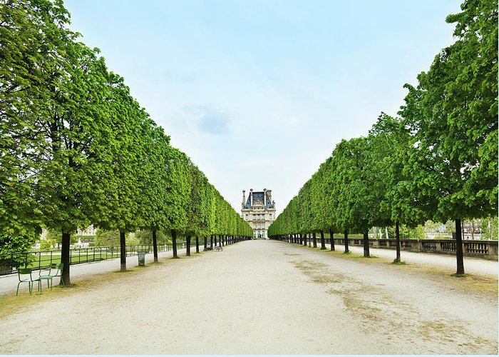 Scenics Greeting Card featuring the photograph Louvre In Paris by Nikada