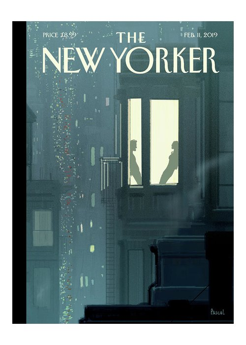 Love Interest Greeting Card featuring the painting Love Interest by Pascal Campion