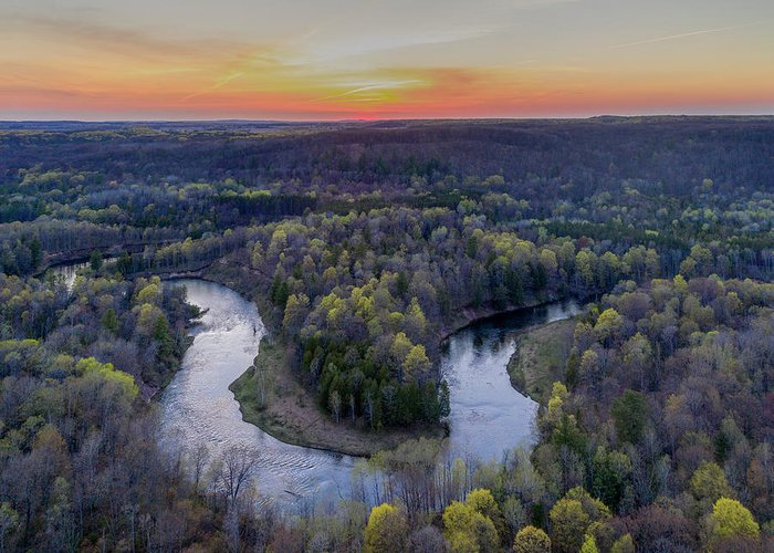 Manistee River Greeting Cards