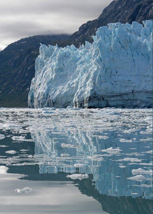 Margerie Glacier Glacier Bay Alaska Greeting Card For Sale By Paul Souders