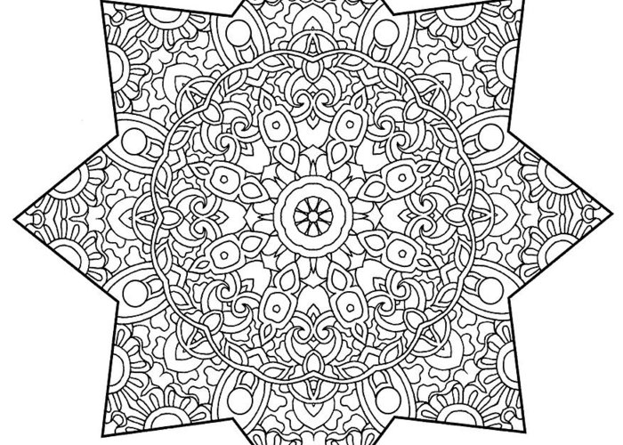 Coloring Books Greeting Card featuring the drawing Mixed Coloring Book 1 by Kathy G. Ahrens