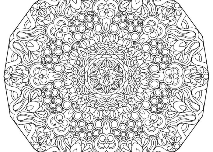Coloring Books Greeting Card featuring the drawing Mixed Coloring Book 34 by Kathy G. Ahrens