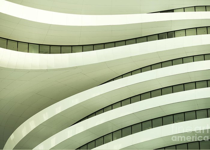 Arch Greeting Card featuring the photograph Modern Architecture by Phototalk