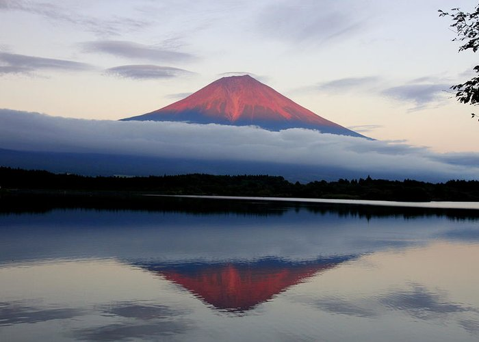 Scenics Greeting Card featuring the photograph Mount Fuji by Japan From My Eyes