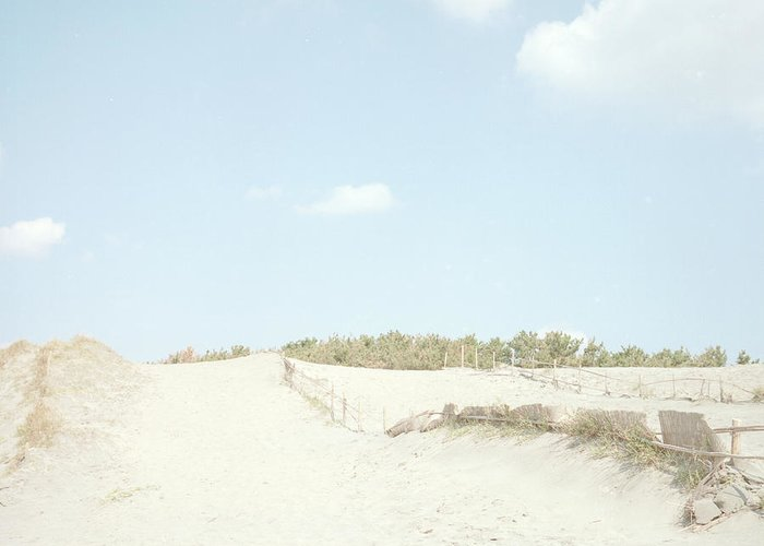 Scenics Greeting Card featuring the photograph Nakatajima Sand Dunes by Haribote.nobody