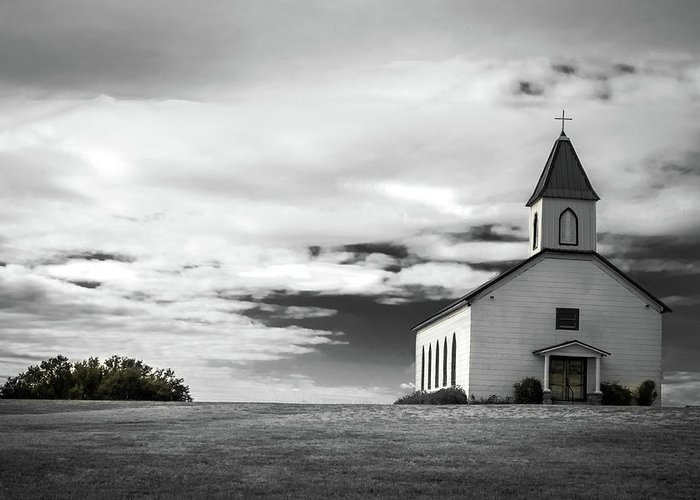 Church Greeting Card featuring the photograph Old church by Peyton Vaughn