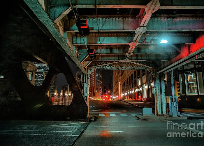 One Greeting Card featuring the photograph One Way Street by Bruno Passigatti