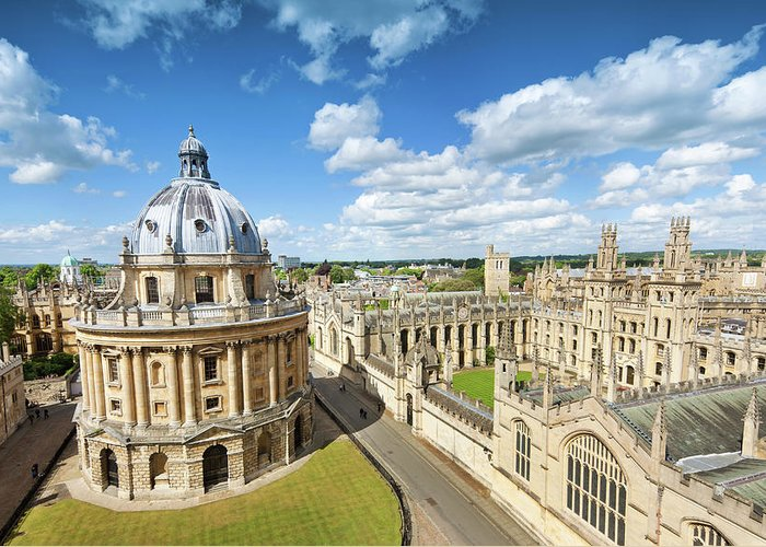 Education Greeting Card featuring the photograph Oxford, Uk by Nikada