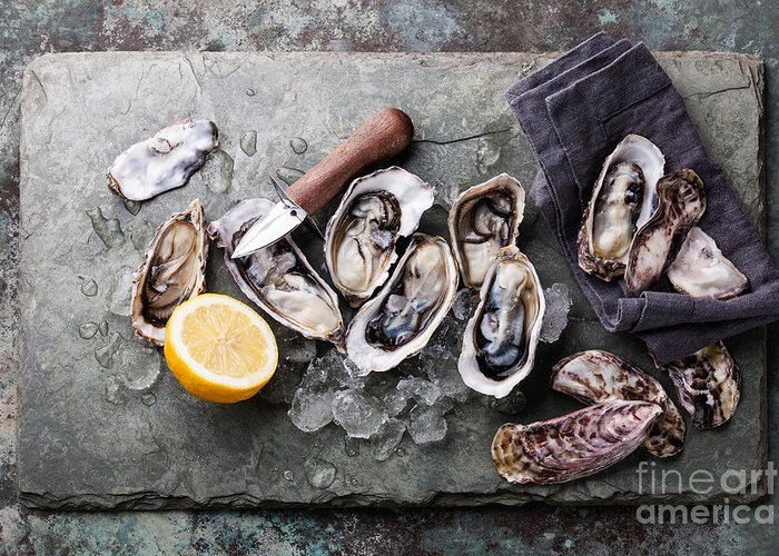 Seafood Greeting Cards