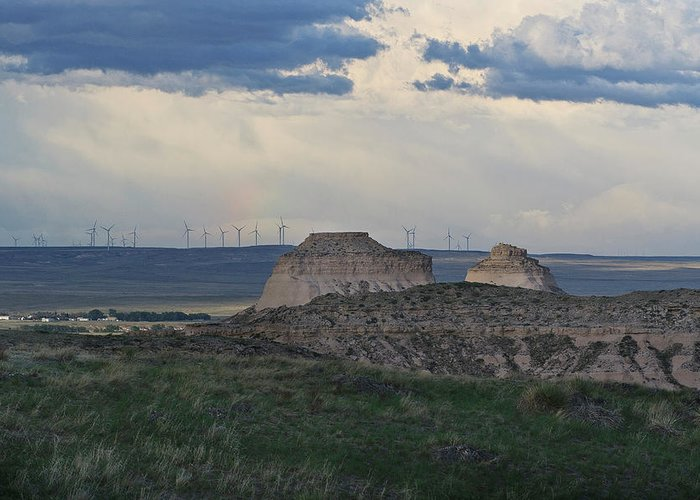 Pawnee Buttes Greeting Card featuring the photograph Pawnee Buttes, Colorado by SL Ernst