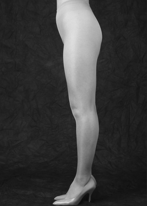Cool Attitude Greeting Card featuring the photograph Photography Of Standing Womans Legs by Daj