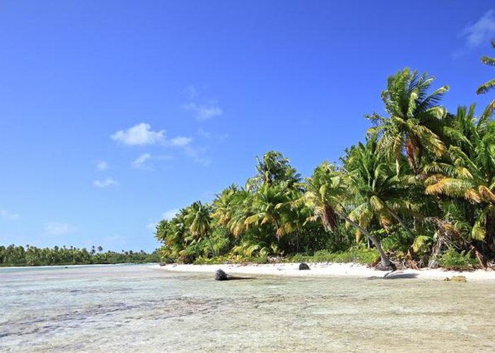 Tranquility Greeting Card featuring the photograph Rangiroa - Isola Dei Coralli - Reef Isl by Loving And Living In This Planet