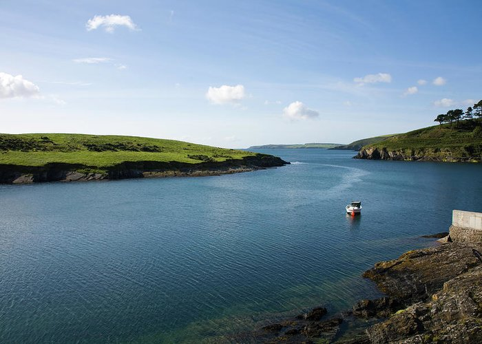 Scenics Greeting Card featuring the photograph Republic Of Ireland, County Cork, Inlet by David Epperson