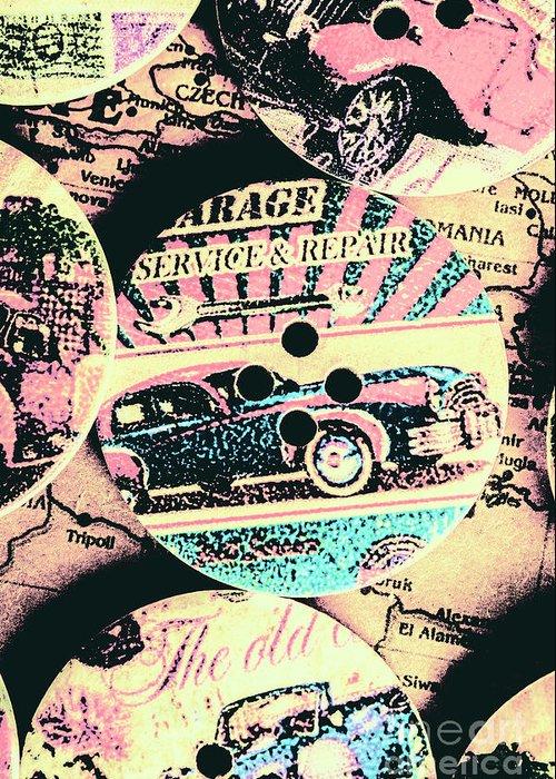 Automotive Art Greeting Cards