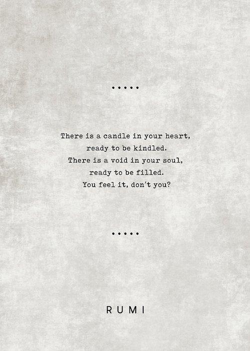 Rumi Greeting Cards