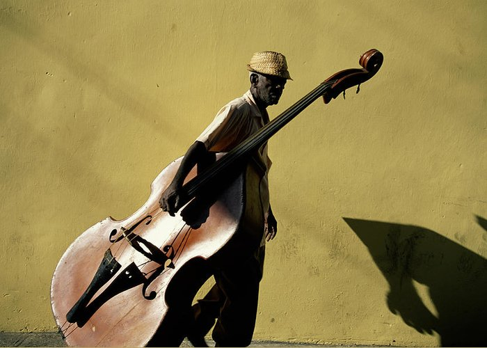 One Man Only Greeting Card featuring the photograph Santiago De Cuba, Cuba by Buena Vista Images