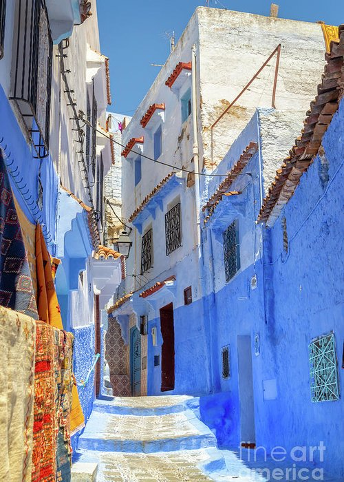Chefchaouen Greeting Cards