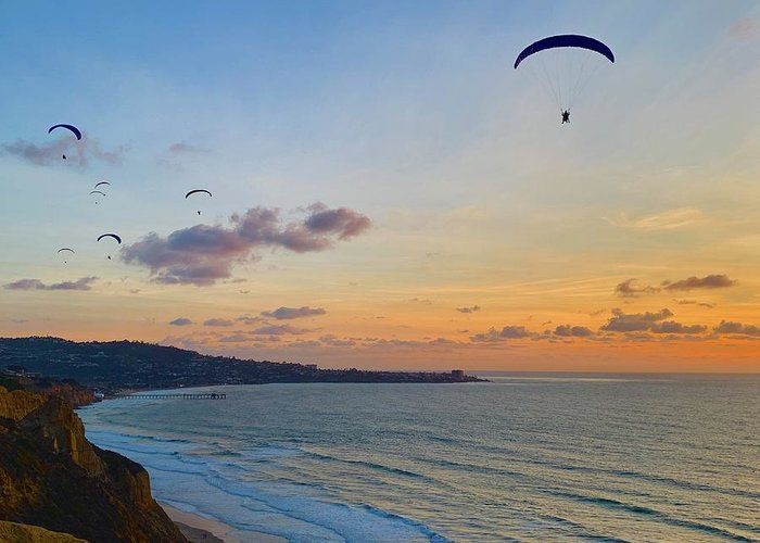 Torrey Greeting Card featuring the photograph Sunset Glide Time by Richard A Brown