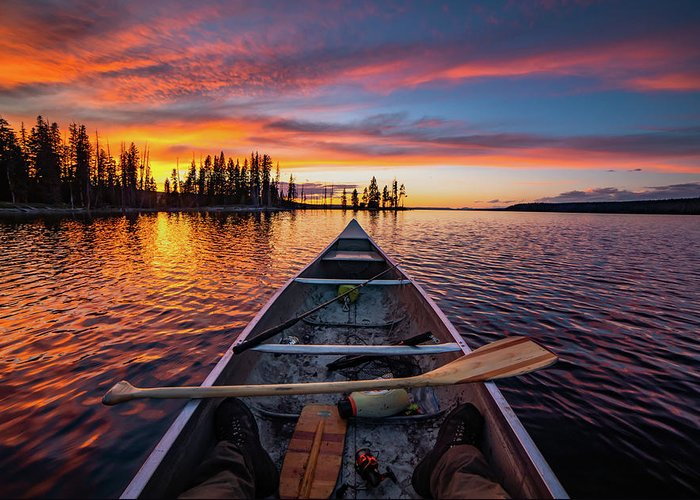 Canoe Greeting Cards