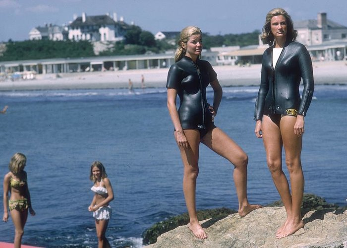 Wetsuit Greeting Cards