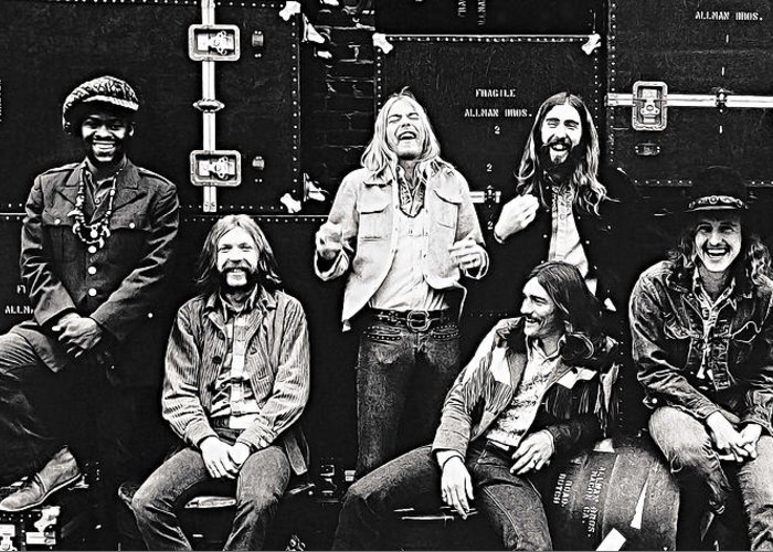 Allman Brothers Greeting Cards