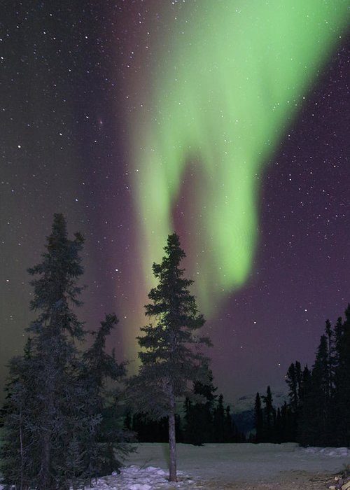 Alaska Greeting Card featuring the photograph The Hand Of God by Angie Mossburg