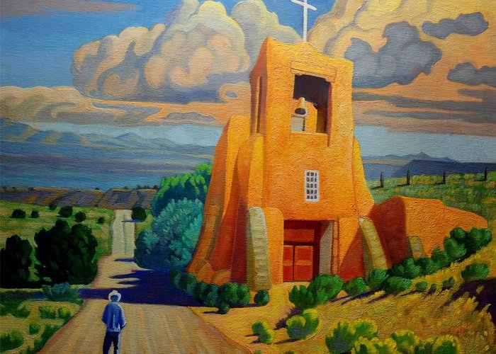 Mission San Miguel Greeting Cards