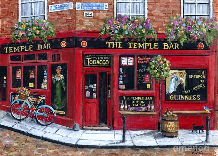 Temple Bar Greeting Cards