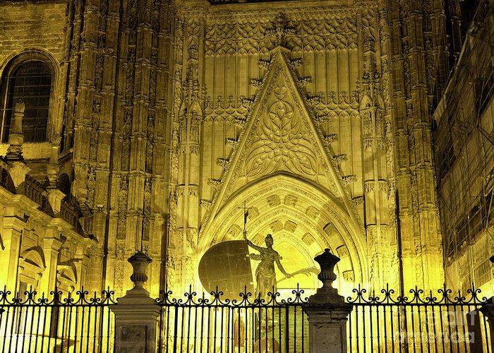 Catedral De Sevilla Greeting Cards