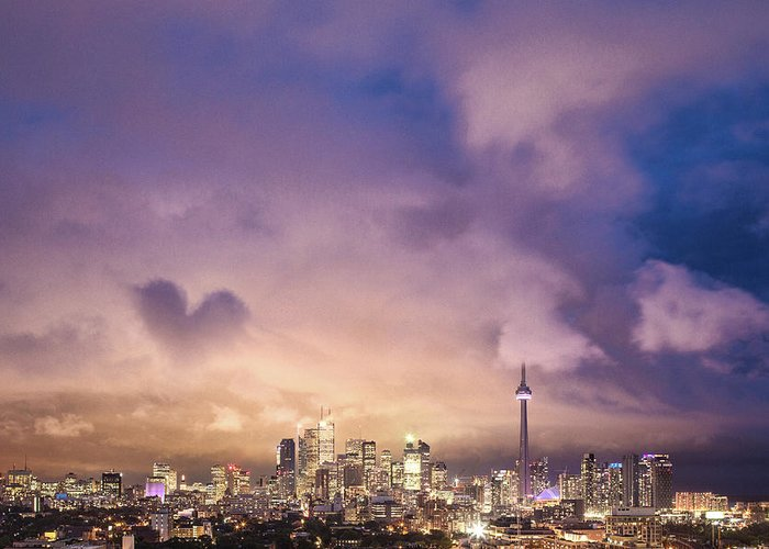 Toronto Greeting Card featuring the photograph Toronto Love by Richard Gottardo - Info@richardgottardo.com