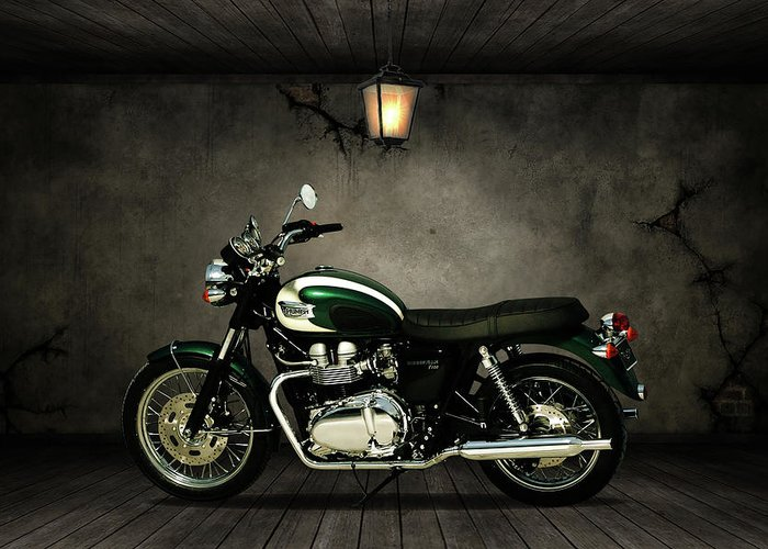 Triumph Motorcycle Greeting Cards
