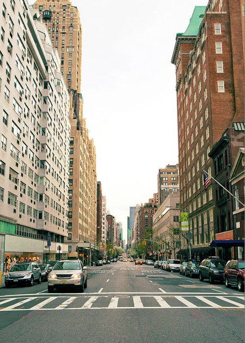 Outdoors Greeting Card featuring the photograph Upper East Side, New York City by William Andrew