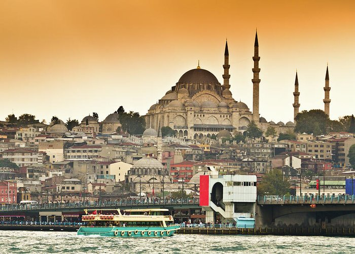 Suleymaniye Greeting Cards