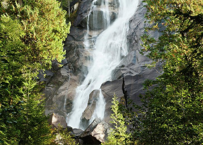 Shannon Falls Greeting Cards