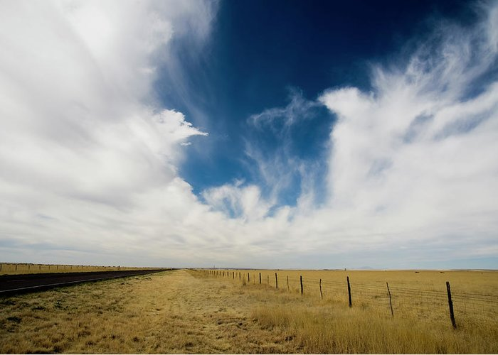 Scenics Greeting Card featuring the photograph West Texas Grasslands United States Of by Tier Images
