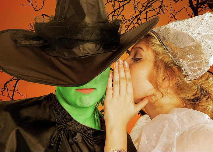Broadway Greeting Card featuring the photograph Wicked 2 by Alan D Smith