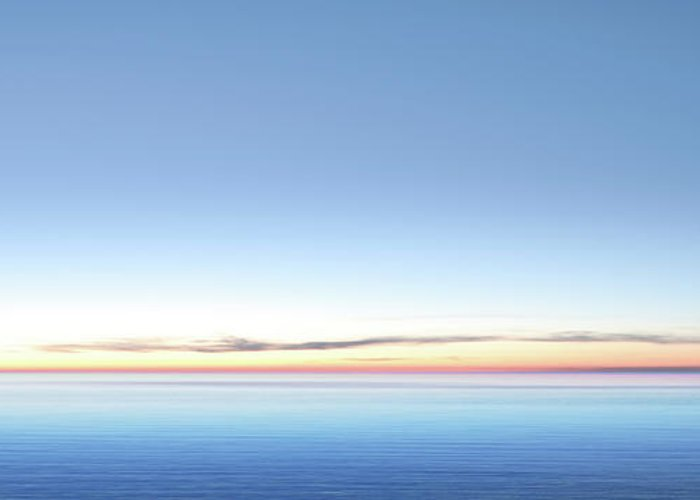 Lake Michigan Greeting Card featuring the photograph Xxl Serene Twilight Lake by Sharply done