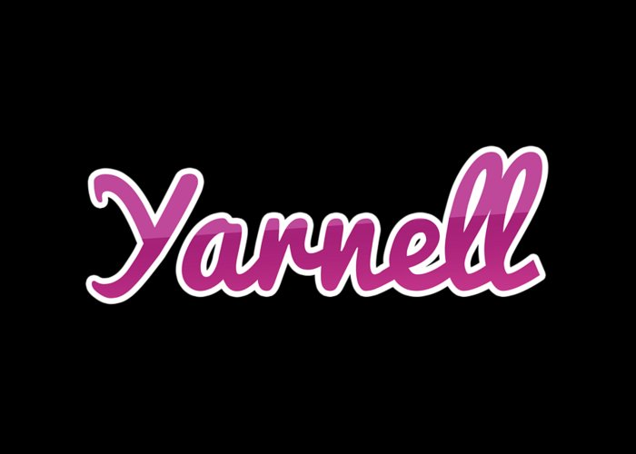 Yarnell Greeting Card featuring the digital art Yarnell #yarnell by Tinto Designs