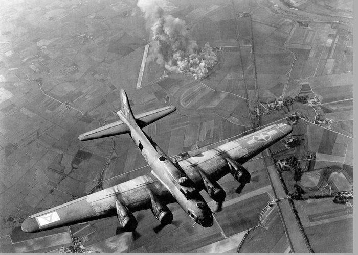 B-17 Greeting Cards