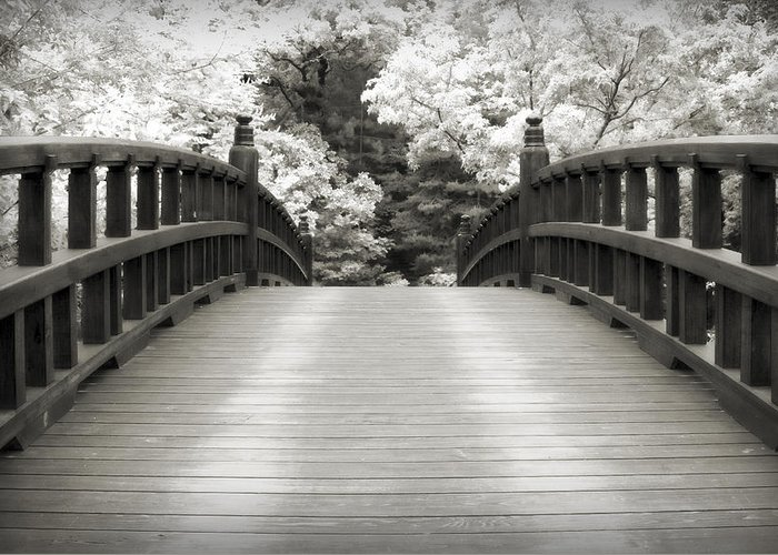 3scape Greeting Card featuring the photograph Japanese Dream Infrared by Adam Romanowicz