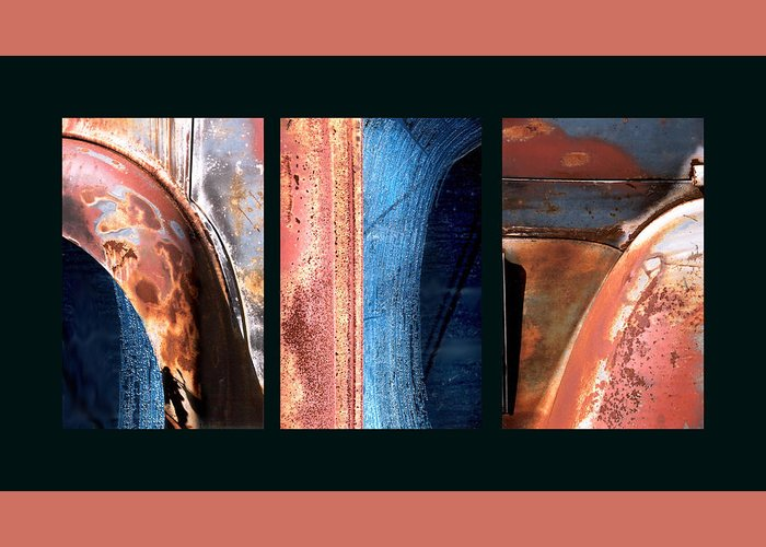 Abstract Greeting Card featuring the photograph Ole Bill by Steve Karol