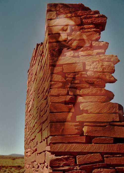 Indian Ruins Greeting Card featuring the photograph Spirit Of Wupatki by Richard Henne