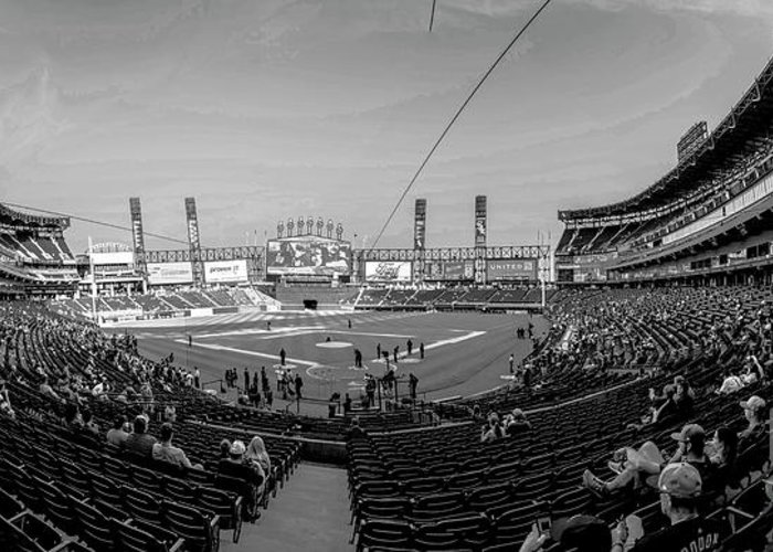White Sox Greeting Card featuring the photograph White Sox Park by David Bearden