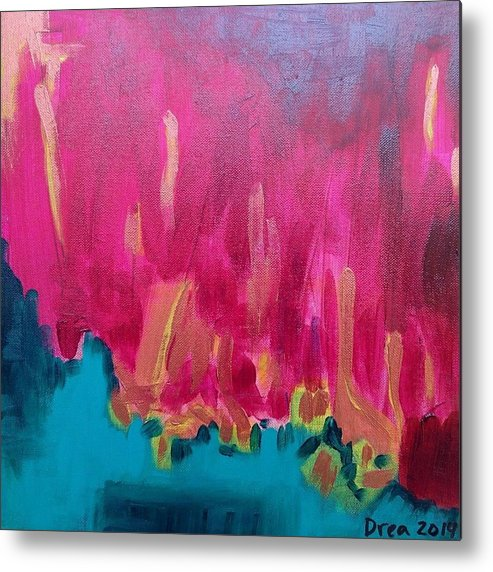 Spirit Paintings Paintings Metal Print featuring the painting Imagine 2014 by Drea Jensen