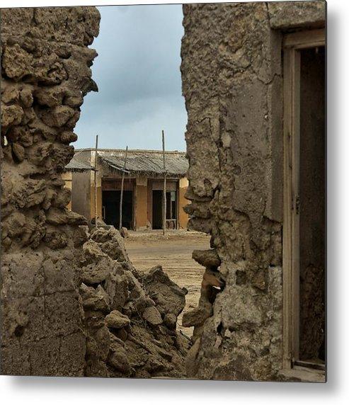Ras Al Kheimah Metal Print featuring the photograph Ruins Of Al Hamra by Munir El Kadi