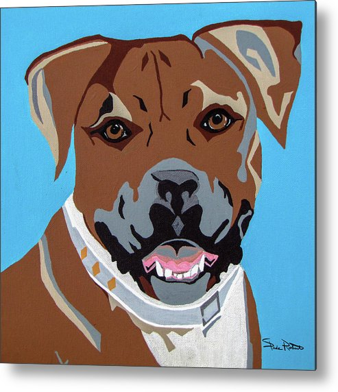 Boxer Metal Print featuring the painting Boxer by Slade Roberts