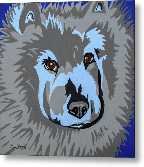 Chow Metal Print featuring the painting Chow Chow by Slade Roberts