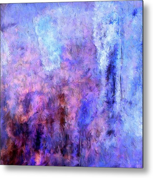 Abstract Metal Print featuring the painting Night Parade by Dominic Piperata