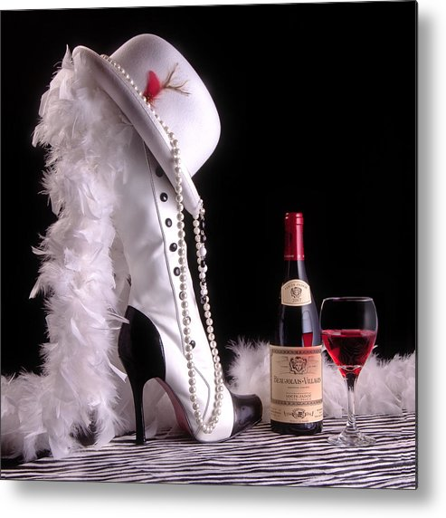 Boot Metal Print featuring the photograph On The Town by Tom Mc Nemar